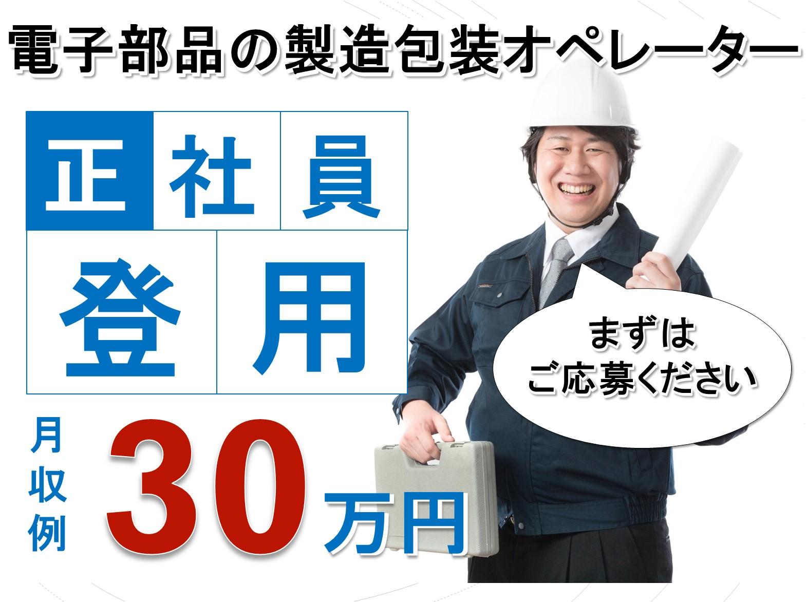 《島根県大田市》月給30万円!正社員登用あり!部品製造のオペレーター イメージ